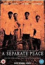 a separate peace review A separate peace, written by john knowles, is a touching novel which incorporates both the perils of friendship and world war ii the fear of war and the draft were acceptable fears during the mid twentieth century.