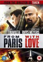 Rent From Paris with Love on Blu-Ray