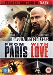 Rent From Paris with Love on DVD
